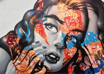 Isalou Poésie Isabelle Lebrun Streetart graffiti
