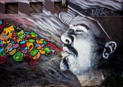 Isalou Poésie Isabelle Lebrun Street Art Graffiti