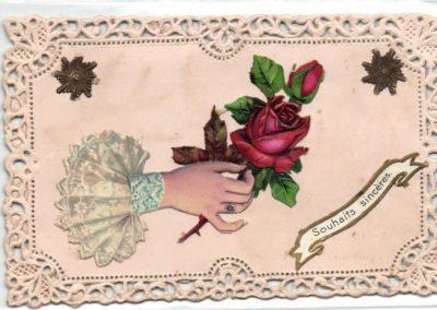 Carte postale poétique Isalou